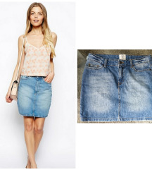 H&M nova teksas suknja