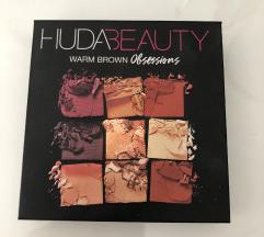 Original Huda Beauty Warm Brown paleta