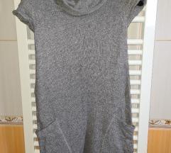 Zara dzemper haljina tunika S