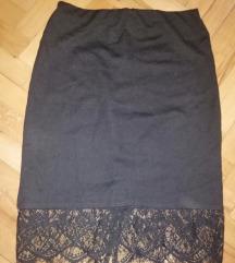 Koton suknja sa cipkom