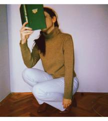 ESPRIT braon rolka-džemper