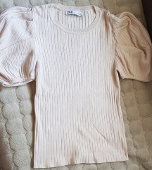 Zara pletena bluza