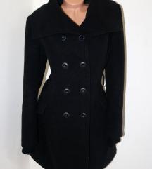 Crni italijanski elegantan kaputić*odličan