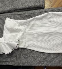 Prelepa bela svecana haljina sa strasom