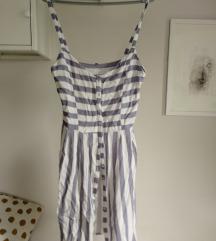 Letnja haljina na pruge