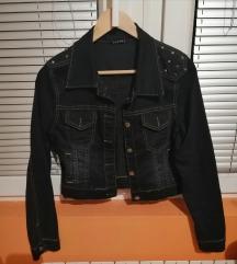 Kratka teksas jakna sa bodljama