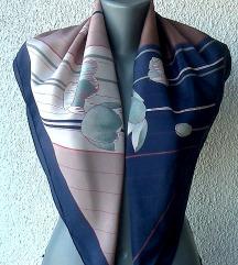 marama svilena motivi lale 81x76 cm