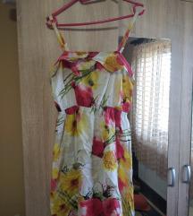 Letnja lagana cvetna haljina