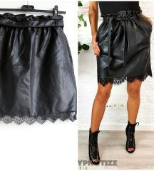 Suknja crna novo univerzalna
