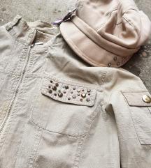 Ženska bolero jaknica + kapica gratis