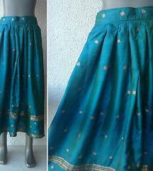 suknja svilena INDIA broj S ili XS