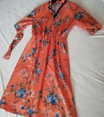 Cvetna haljina S/M  Novo
