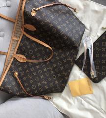 Louis Vuitton Neverfull 1:1 replika SNIŽENA