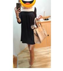 Crna haljinica kraci model S/M