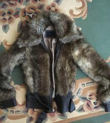 SNIZENA Vero moda fake fur jakna S