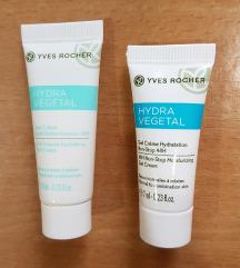 Yves Rocher Hydra Vegetal kremice 2x NOVO!