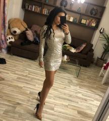 Srebrna haljinica SNIZENO