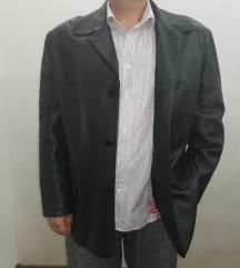 Muška kožna jakna-sako