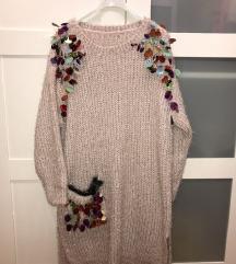 Dzemper haljina Made in Italy
