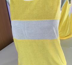 Žuta majica od frotira
