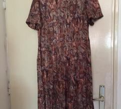 svilena haljina i bluza