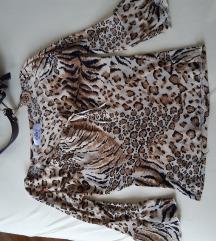 Animal print bluza moderna