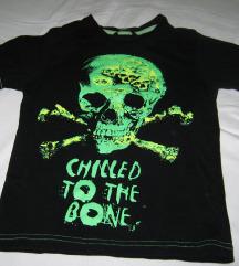 skull majica sa lobanjom - decija
