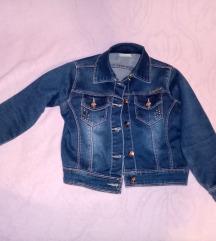 Decja ženska teksas jakna