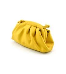 Zuta moderna torbica kao bottega