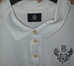 Polo bela majica bez rukava letnja