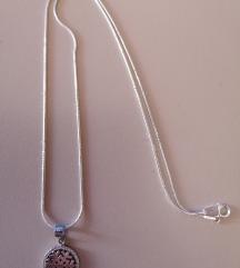 Nova srebrna ogrlica...