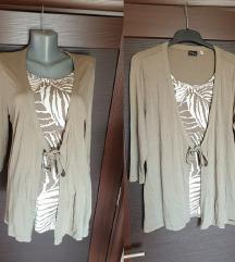 NOVA C&A majica i kardigan M/L