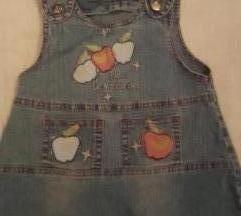 Teksas haljinica sa jabukicama, 98