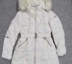 Mlečno bela zimska jakna vel. L