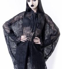 Willow Lace Shirt Dress Killstar XS