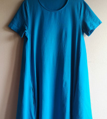 Benetton plava haljina