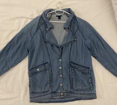 Forever21 teksas jaknica/ natkošulja