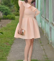 BLONDY haljina sa karnerom na jedno rame