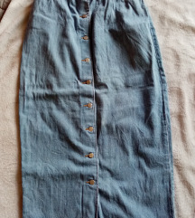 Vintage denim suknja