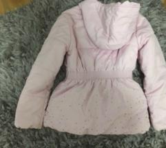Decija jaknica bebi roze