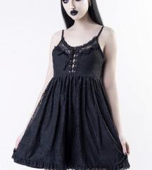 Ashbury's Angel Lace Dress Killstar XS