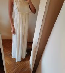 MANGO prljavo bela haljina