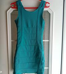Tirkiz plava haljina