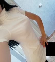 Rok bluza, bela, okay