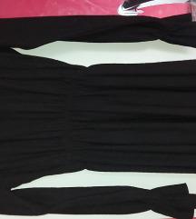 Zara crna haljina nova