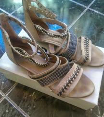 Sandale kožne,divne,br41.