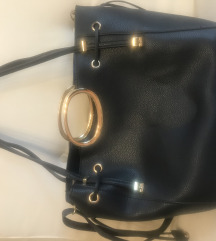 Tamno plava torba