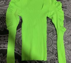 Neon bluza nenosena-novo