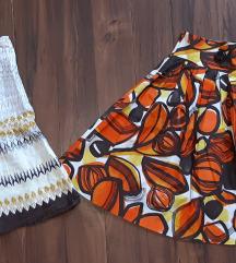 Zara i H&M suknje S/M