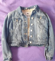 Decija tekses jakna - postavljena